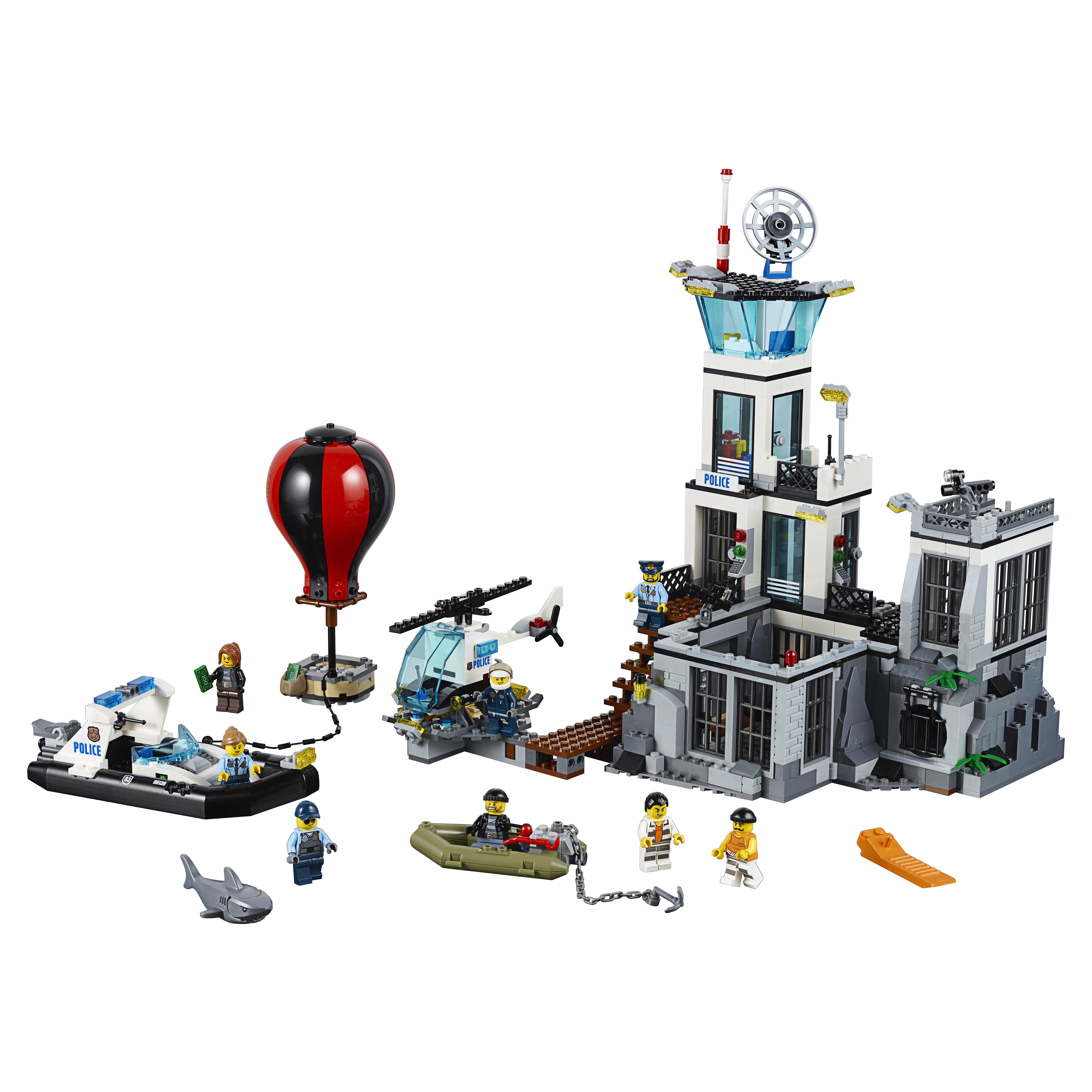 Конструктор LEGO City Police Остров тюрьма (60130)