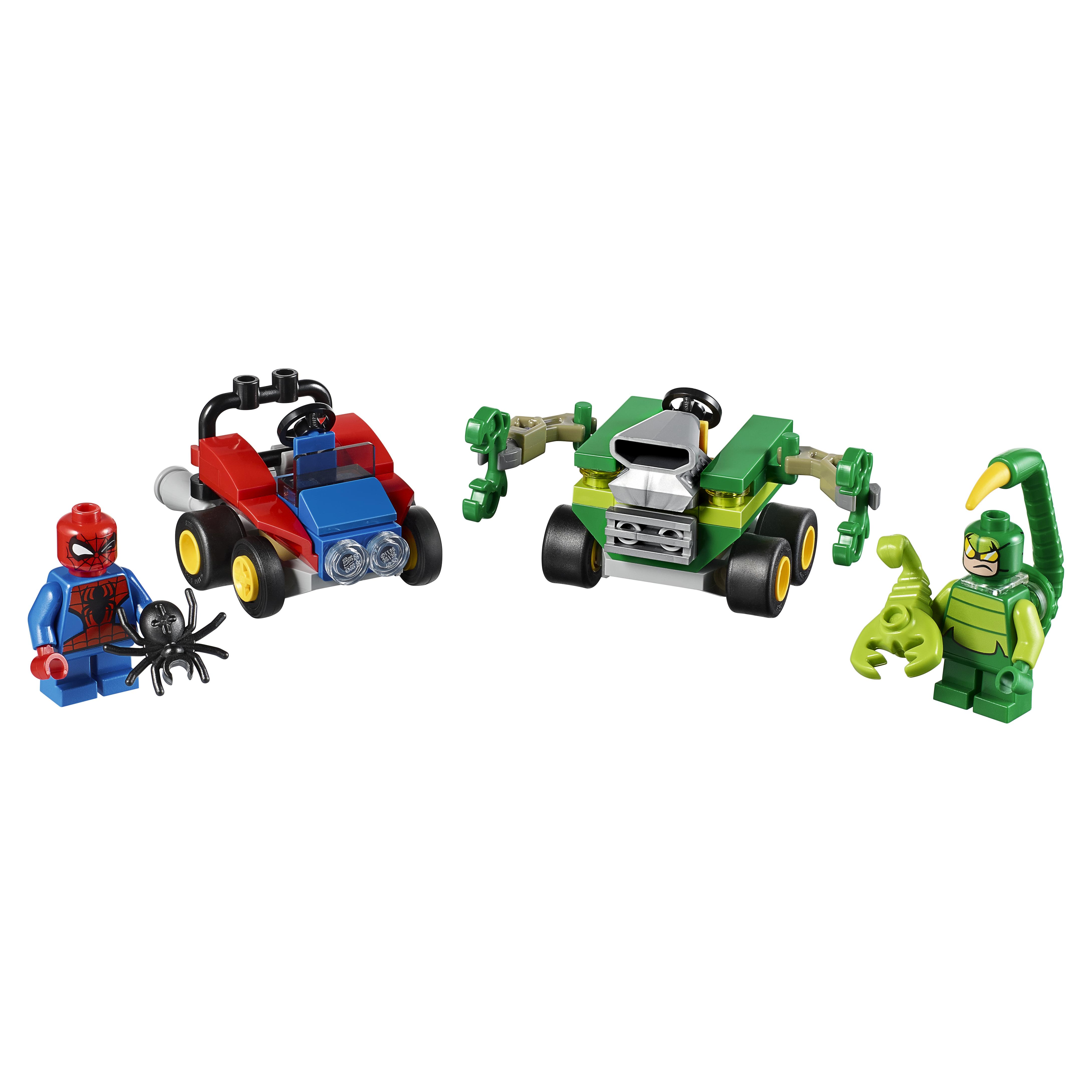 Купить Конструктор LEGO Super Heroes Mighty Micros: Человек-паук против Скорпиона (76071)