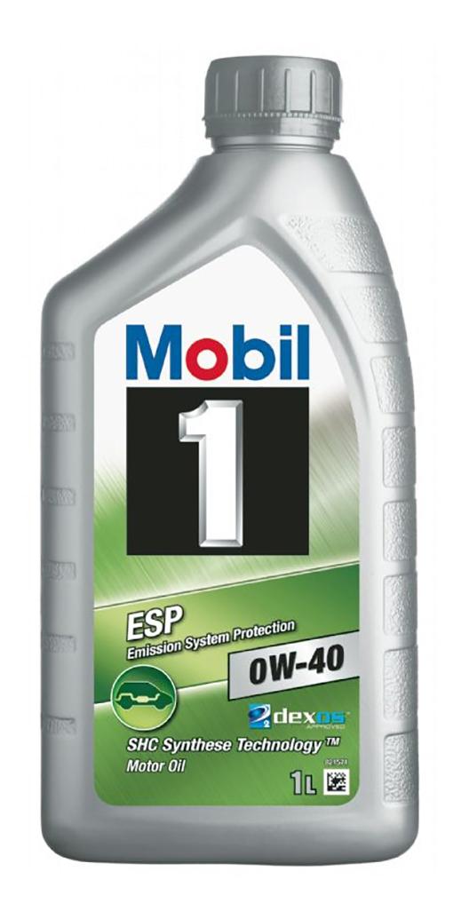 Моторное масло Mobil 1 ESP 0W-40 1л