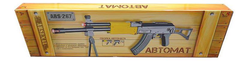 Купить Автомат игрушечный abtoys электромеханический ars-267(dq-2501) 70x6x20 см, Стрелковое игрушечное оружие