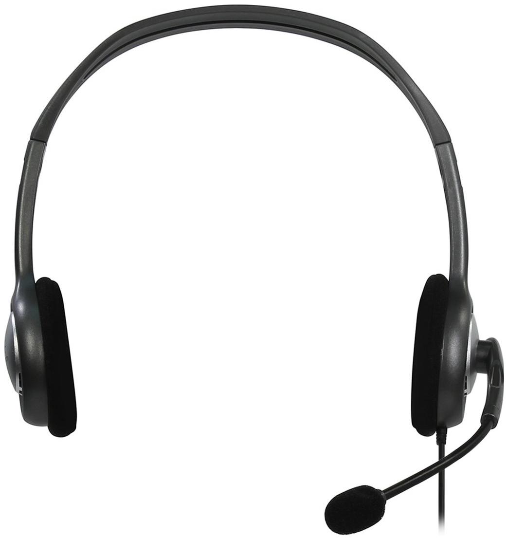 Гарнитура для компьютера Logitech Logitech® Stereo Headset H111 Grey/Black фото