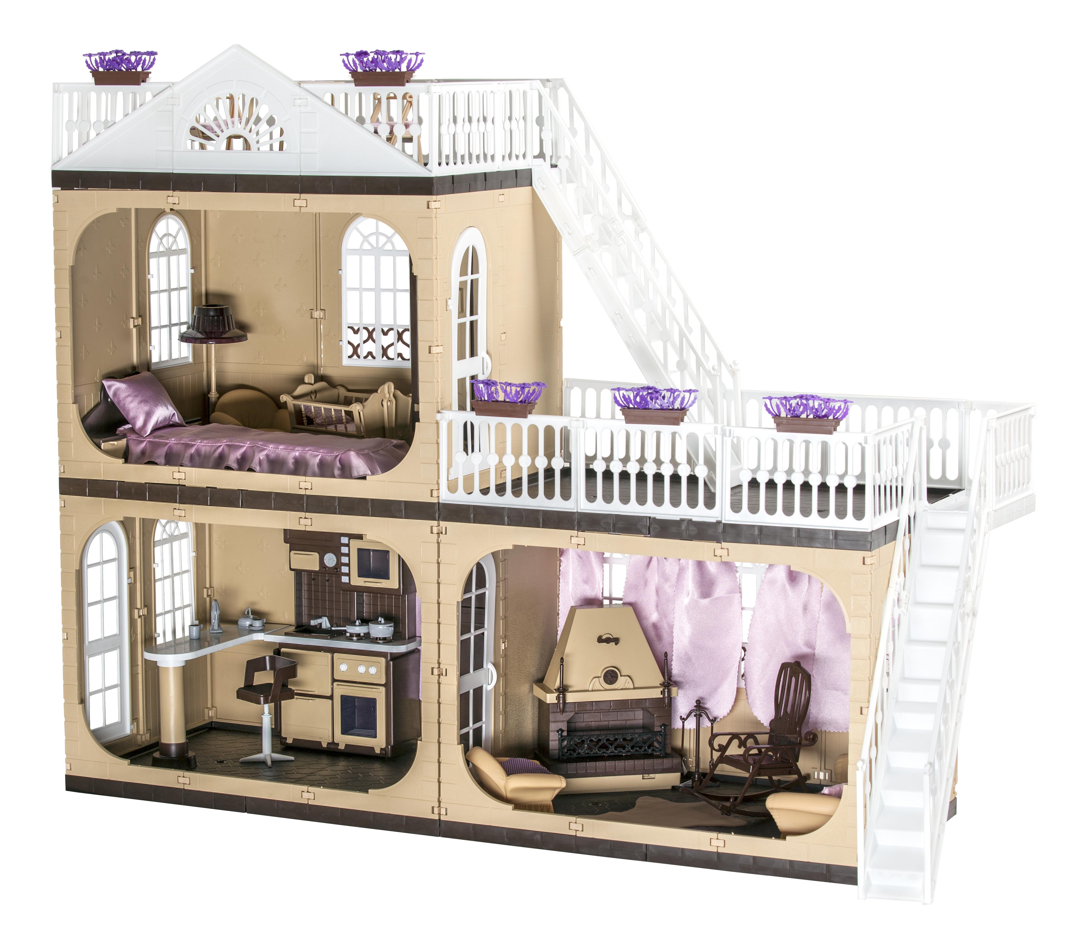 Кукольные домики Огонек Коллекция коттедж С 1292