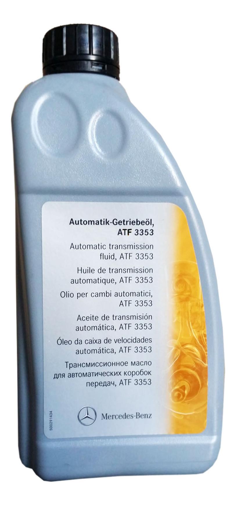 Трансмиссионное масло Mercedes-Benz 1л A001989450310