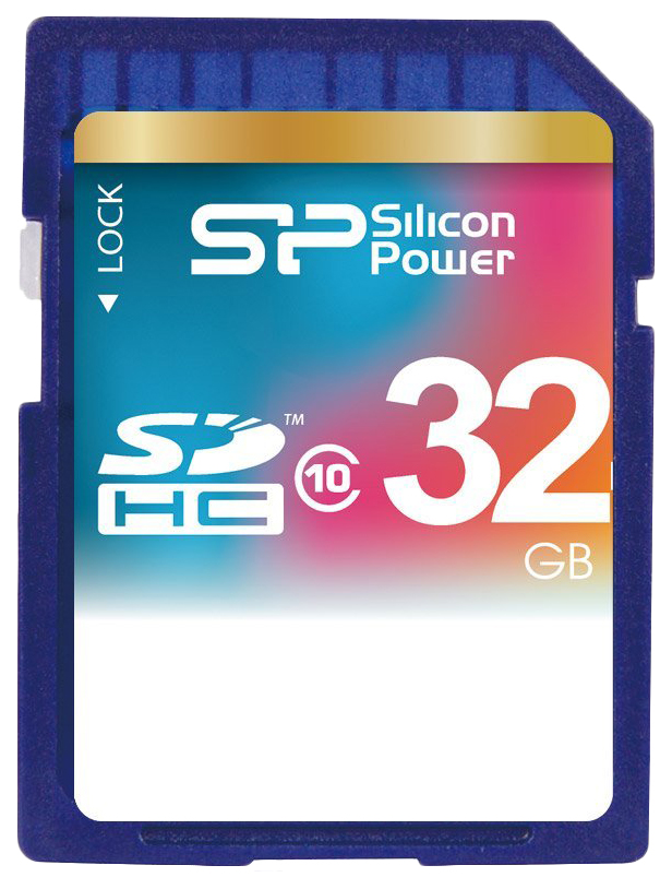 Карта памяти Silicon Power SDHC SP032GBSDH010V10 32GB