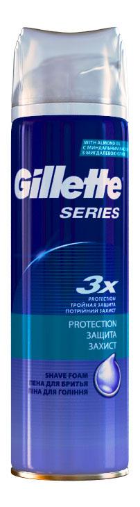 Пена для бритья Gillette Protection (Защита)
