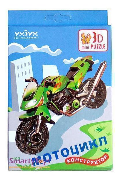 Пазл Умная бумага Мотоцикл