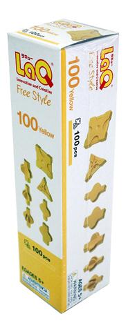 Конструктор пластиковый LaQ Free Style Yellow.