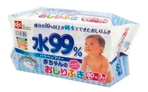 Детские влажные салфетки iPLUS 3х80 шт.