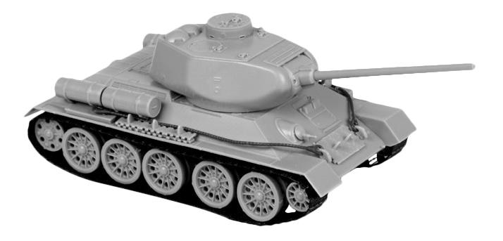 Модели для сборки Zvezda Советский средний танк Т-34/85 4600327050397