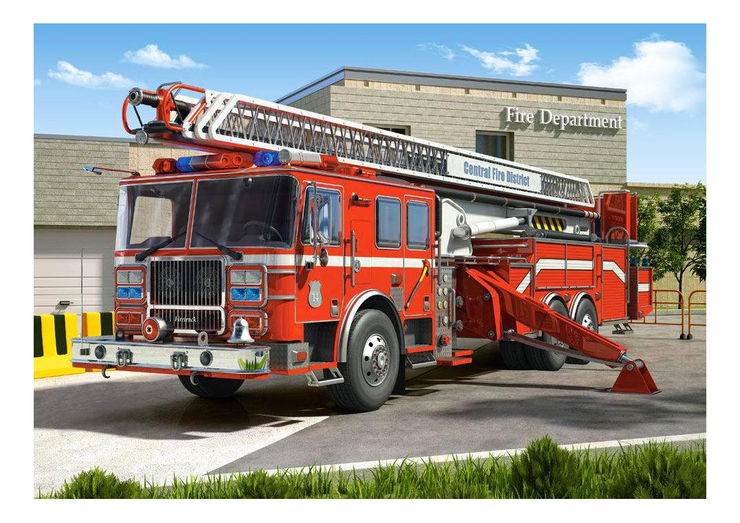 Пазл Castorland Пожарная машина 260 деталей