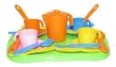 Купить Набор посуды игрушечный Полесье Анюта П-3889-no, Игрушечная посуда