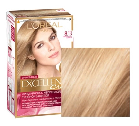 Краска для волос L`Oreal Paris Excellence 8,13 Светло-русый бежевый