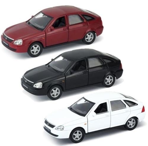 Модель машины Welly 1:34-39 Lada Priora цвет в ассортименте