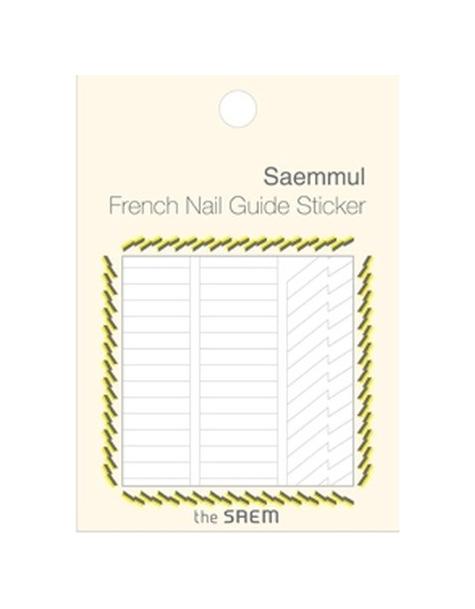 Наклейки для ногтей the SAEM French Nail Guide