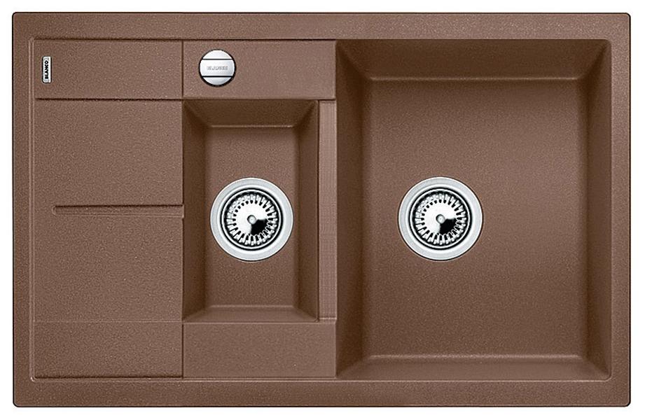 Мойка для кухни гранитная Blanco METRA 6 S Compact 521891 мускат