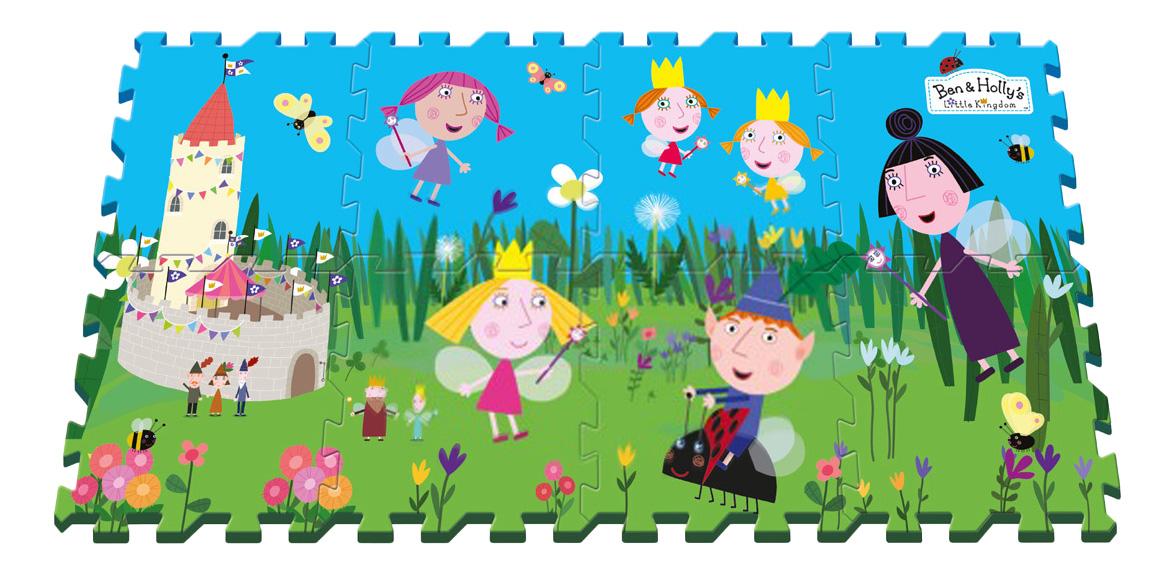 Мягкий коврик-пазл Ben & Holly Маленькое королевство Бена и Холли фото