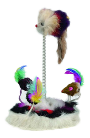 Мягкая игрушка для кошек Beeztees, Искусственный мех, с кошачьей мятой
