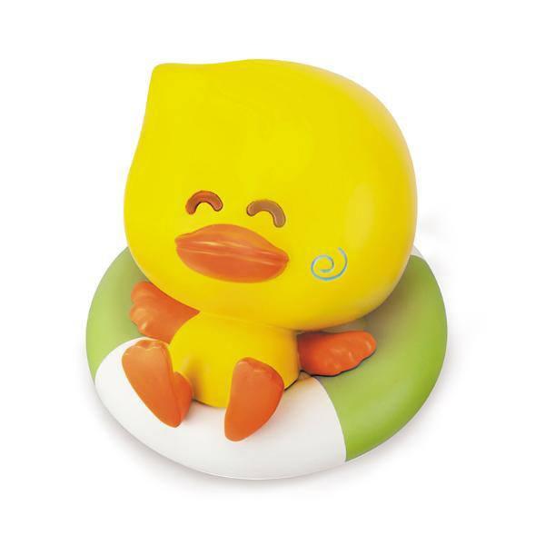 Купить Игрушка для купания B kids Уточка с идентификатором оптимальной температуры воды, B.Kids, Игрушки для купания малыша