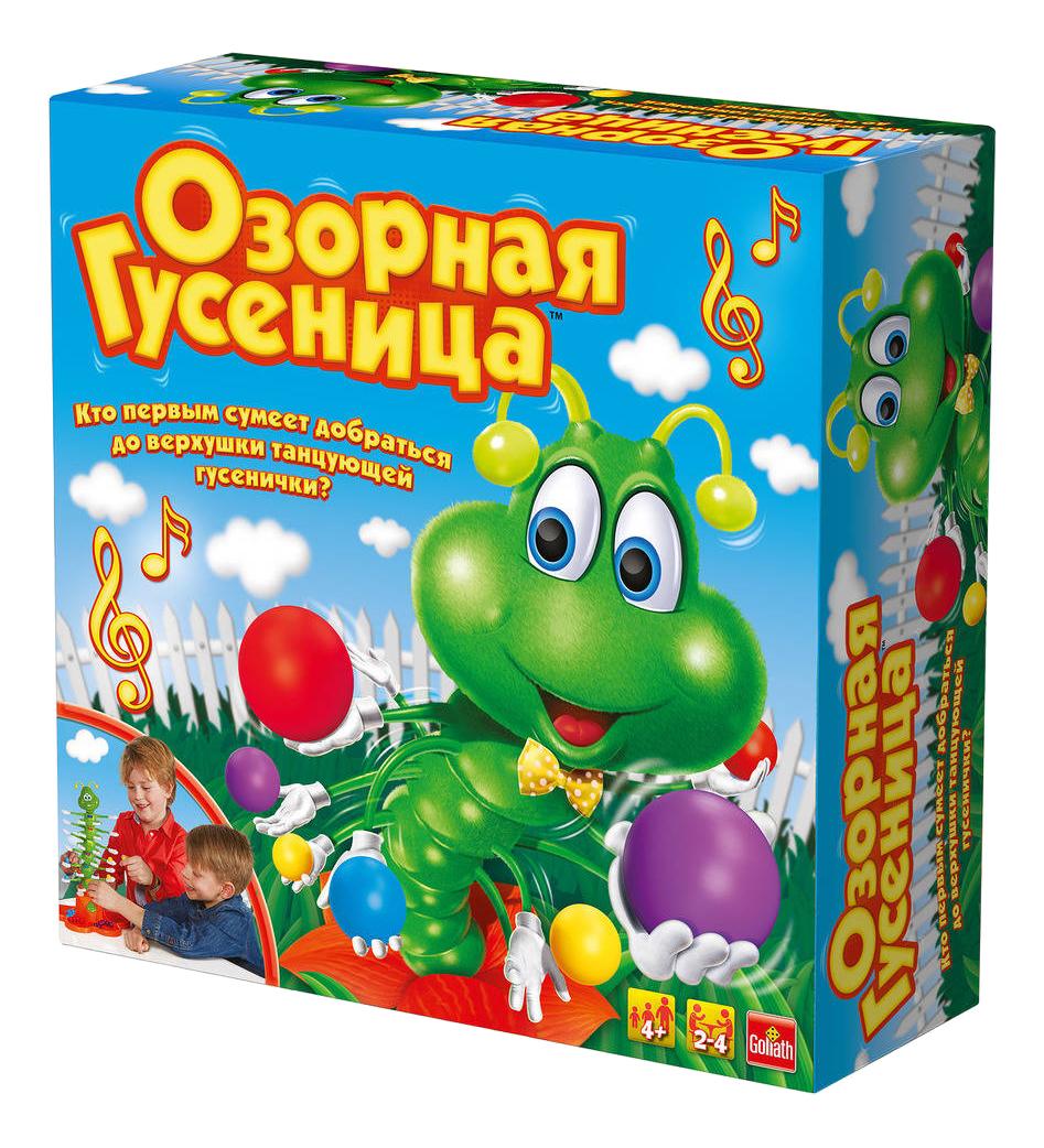Купить Семейная настольная игра Goliath Озорная гусеница, Семейные настольные игры