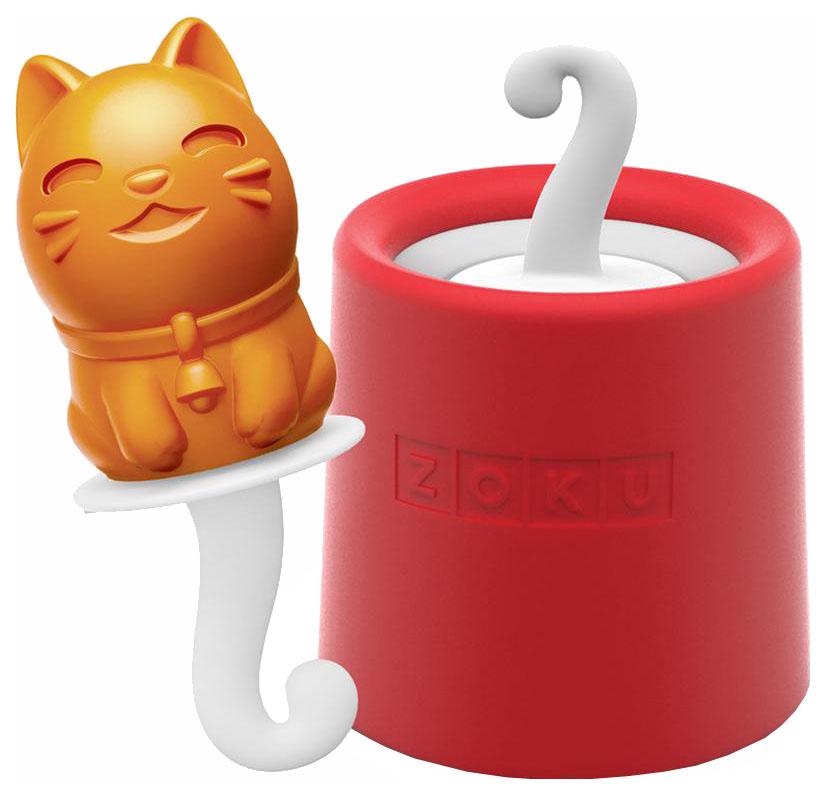 Форма для мороженого Zoku ZK123-009 Kitty Красный