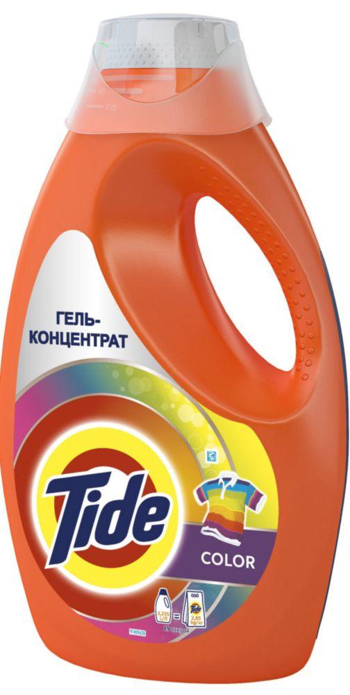 Гель-концентрат для стирки Tide color 1.24 л