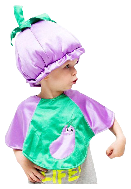 Карнавальный костюм Бока Овощ, цв. фиолетовый р.122