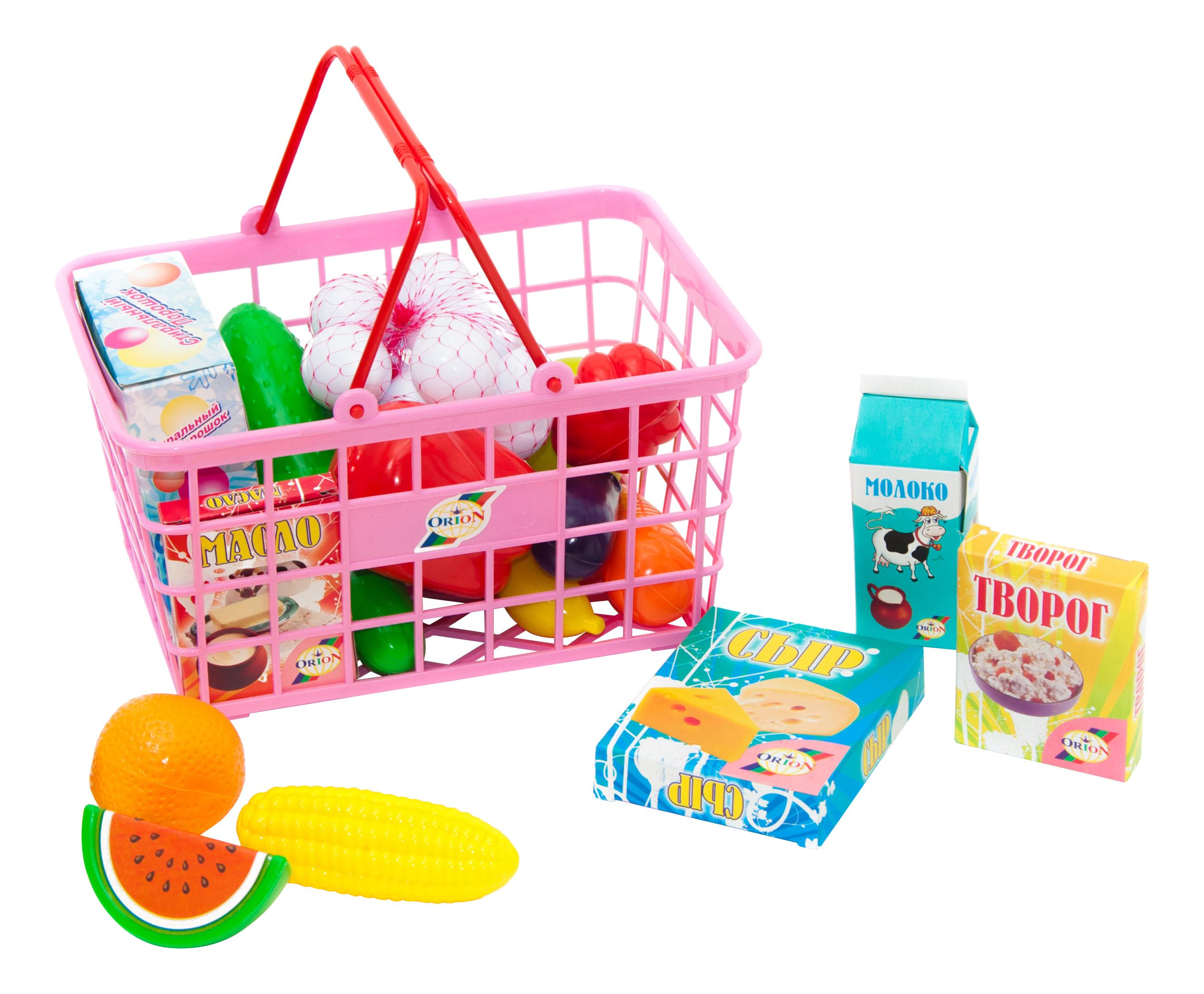 Купить Пикник, Набор продуктов игрушечный Orion Toys 379в4, Игрушечные продукты