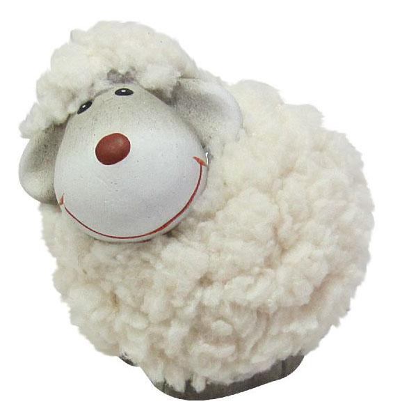Фигурка керамическая Овечка Snowmen Е94588,  - купить со скидкой