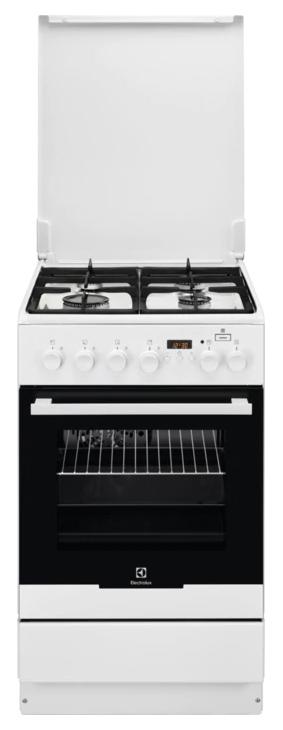 Комбинированная плита Electrolux EKK95490MW White