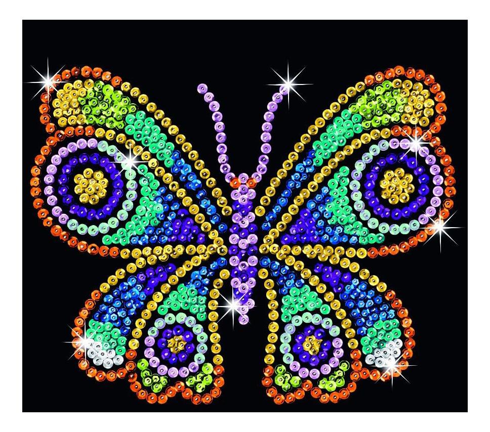 Мозаика из блесток KSG Бабочки