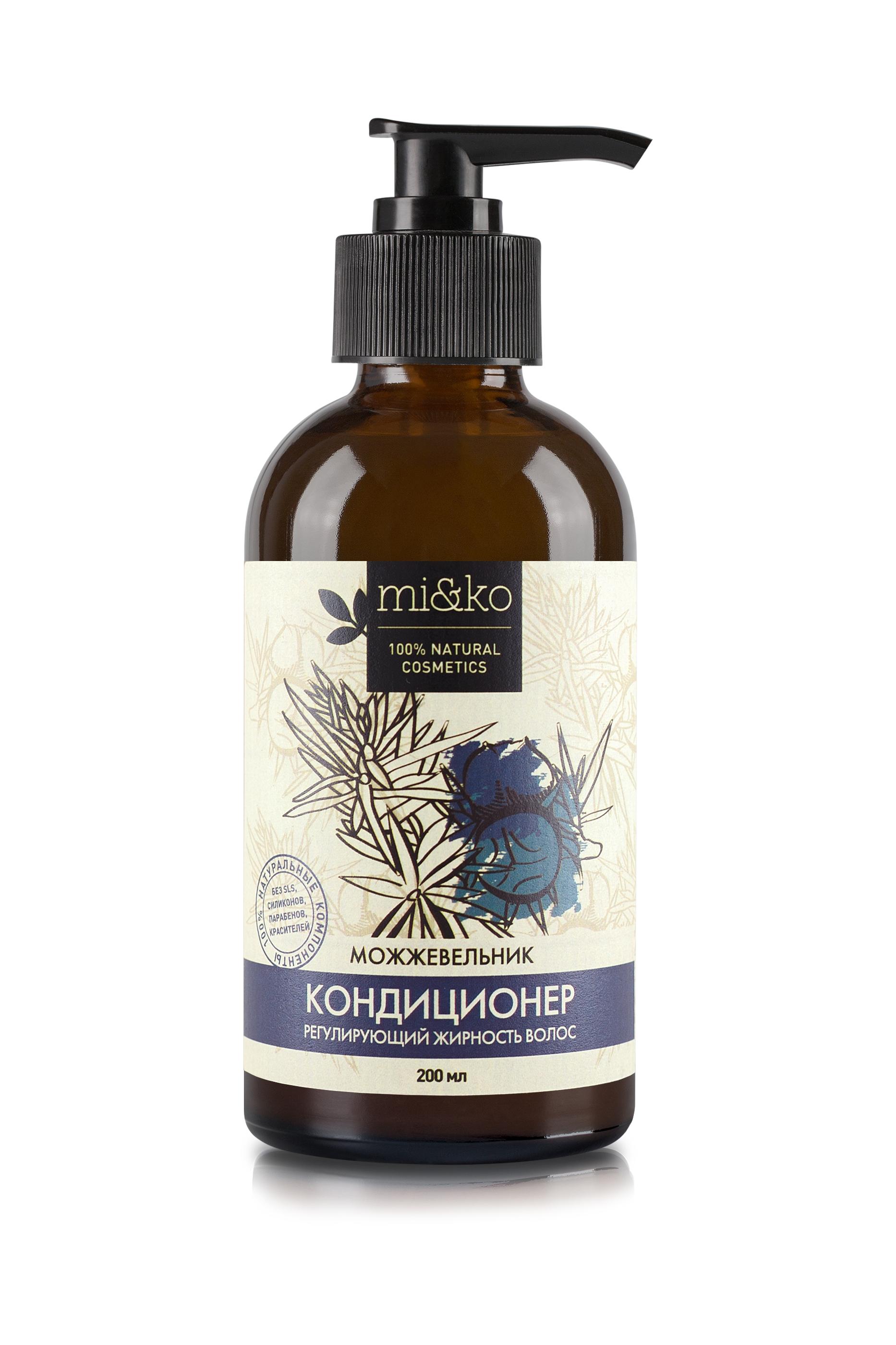 Купить Кондиционер для волос Ми&Ко Можжевельник регулирующий жирность волос, 200 мл, mi&ko