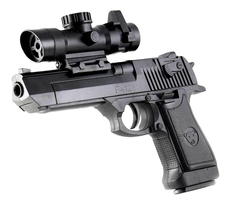 Пистолет игрушечный Shantou Gepai Gepai ES882-F128A черный фото
