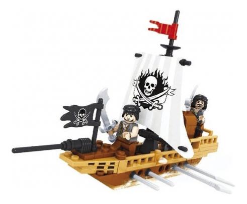 Пластиковый конструктор Пираты 100 дет Ausini Г54864 Пластиковый конструктор пираты 100 дет Г54864