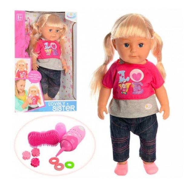 Кукла Lovely Sister с аксессуарами 45 см Shenzhen Toys Д87056