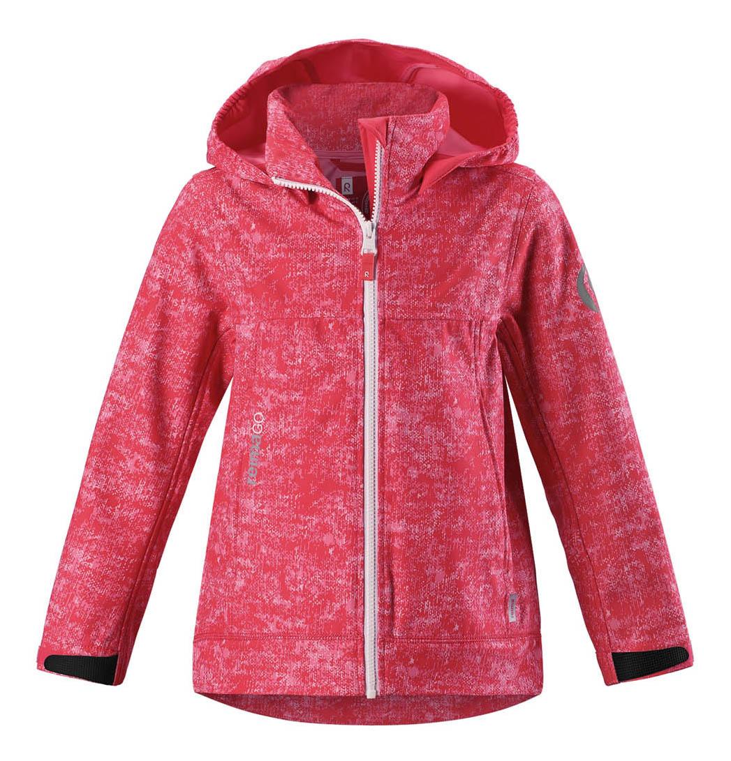 Куртка детская Reima April р.134 красная