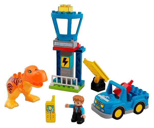 Купить Конструктор lego duplo jurassic world башня ти-рекса 10880, Конструктор LEGO Duplo Jurassic World Башня Ти-Рекса 10880, LEGO Duplo для девочек