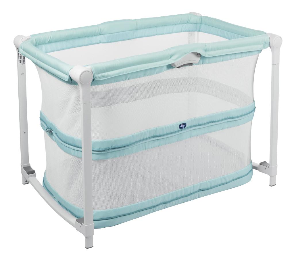 Кроватка Манеж Chicco Zip&Go Aquarelle