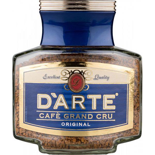 Кофе натуральный растворимый D\'arte оriginal сублимированный 100 г