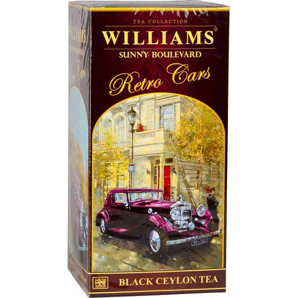 Чай черный Williams коллекция retro cars sunny boulevard 250 г фото