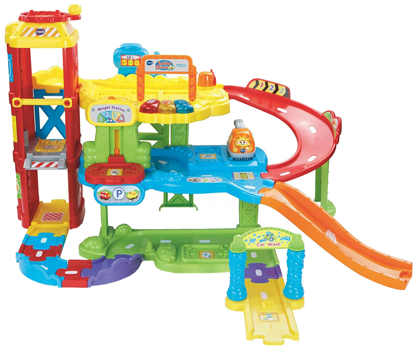 Гараж игрушечный VTech Бип-Бип 80-180026 купить во Vseblaga.ru