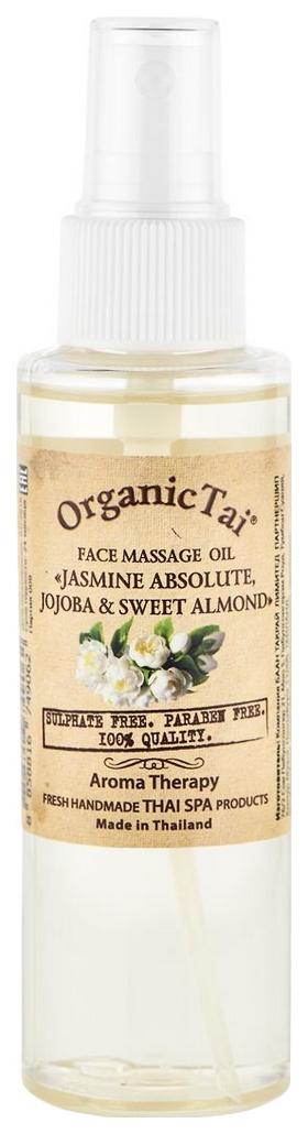 Масло для лица Organic Tai Жасмин, жожоба и сладкий миндаль 120 мл