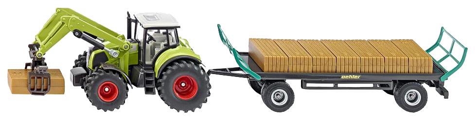 Купить Трактор с захватом и прицепом 1:50 1946, Тракторы с захватом и прицепом Siku, Игрушечные машинки