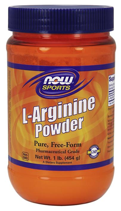 NOW Sports L Arginine Powder 450