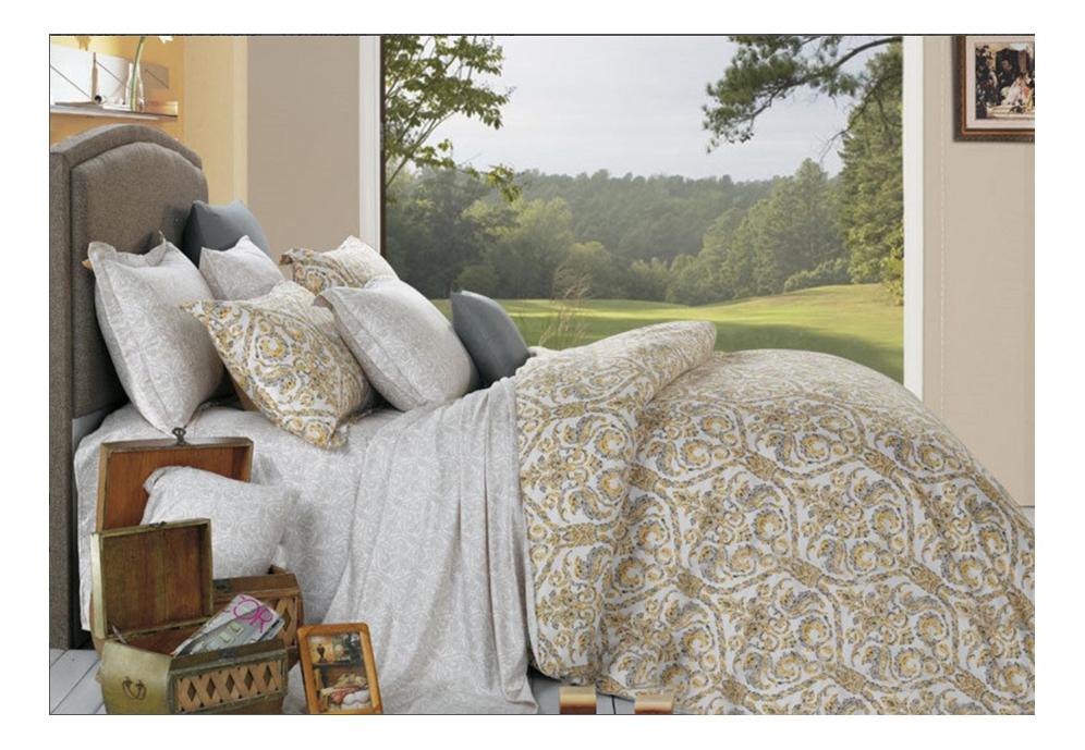 Комплект постельного белья Cleo renata евро