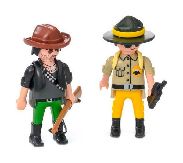 Игровой набор Playmobil Дикая природа Рейнджер и Охотник 9217 фото