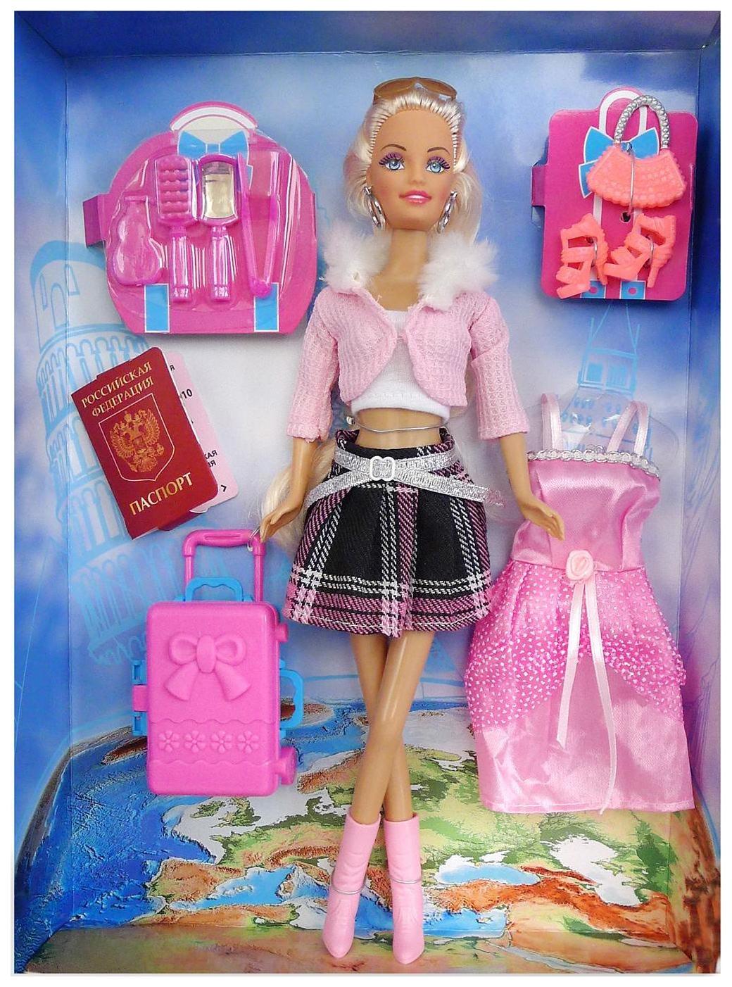 Купить Кукла Toys Lab Ася путешественница вариант 2 35088, Классические куклы