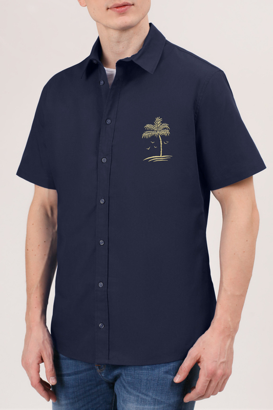 Рубашка мужская Tom Farr TM7005.67 синяя M