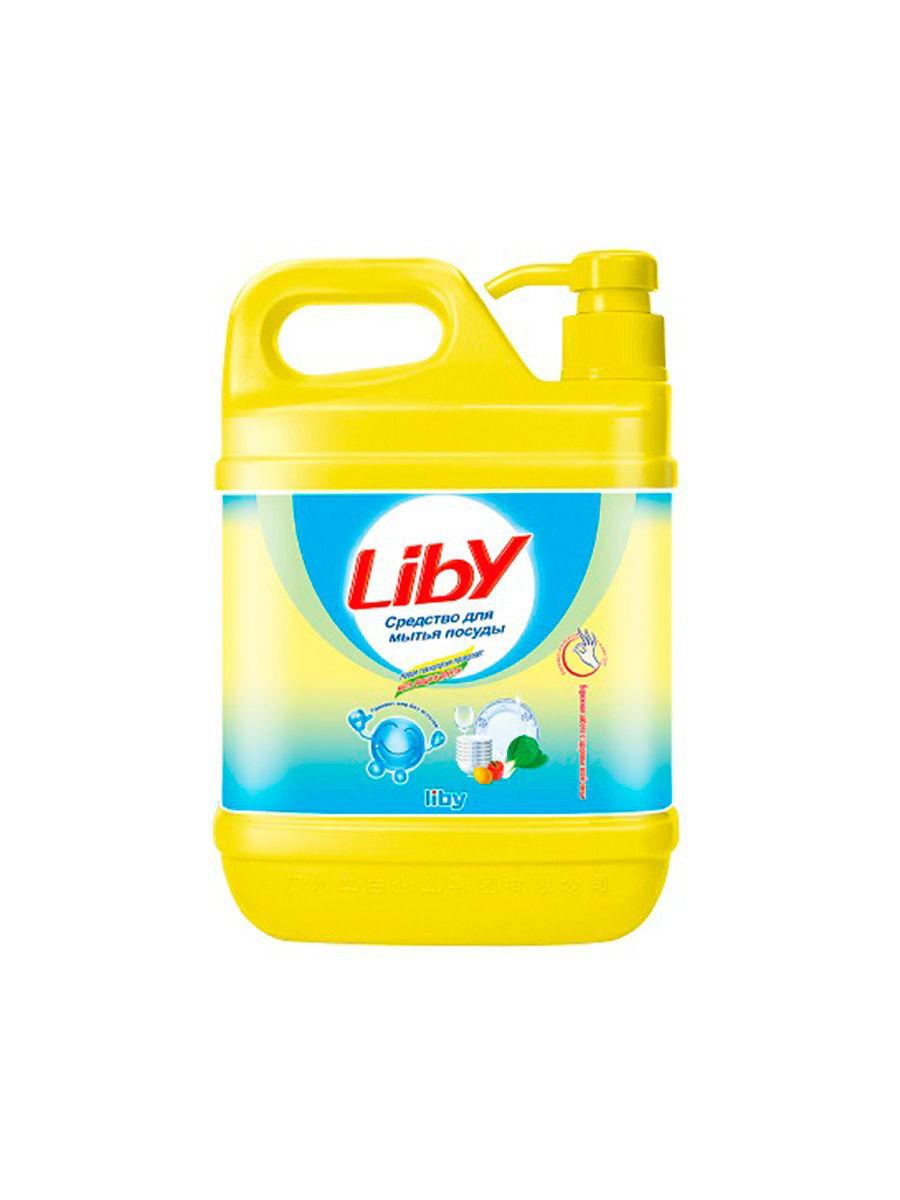 Жидкость для посуды Liby чистая посуда 2 кг