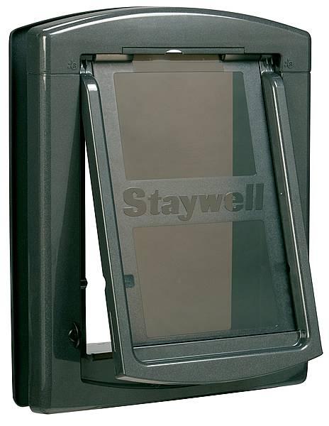 Дверца для собак StayWell 850, темно серая,