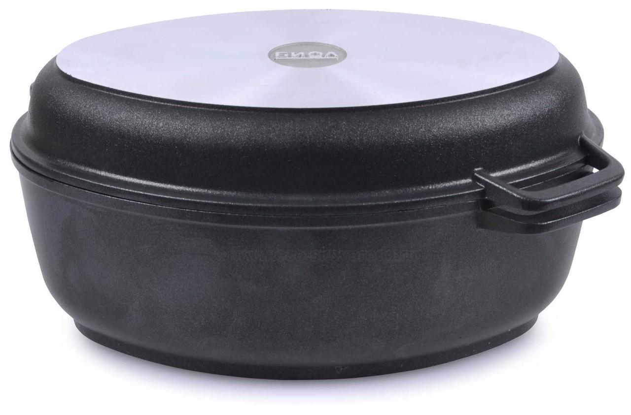 Утятница БИОЛ 6л + крышка-сковорода-гриль